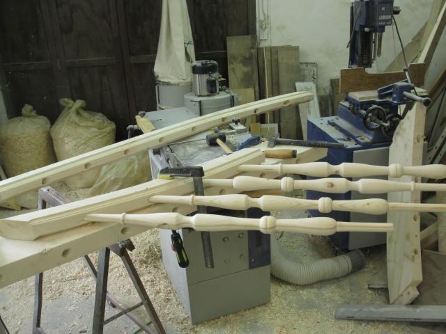 escalier 1 4 tournant partie 2 atelier de la vicomt. Black Bedroom Furniture Sets. Home Design Ideas